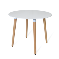 Novara Mobili - Table Dora Scandinavian Style Round Ø90