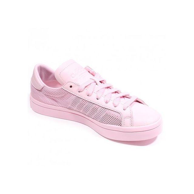 Adidas originals Chaussures Court Vantage Rose Femme