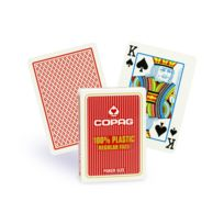 Copag - Cartes Poker Regular rouge