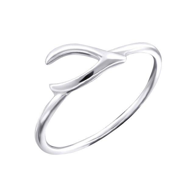 Sochicbijoux so chic bijoux bague anneau porte bonheur os des voeux argent 925 pas cher - Bijoux porte bonheur pour femme ...