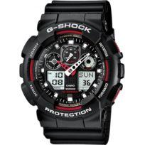 Casio - Promo Montre Résine G-shock Ga-100-1A4ER - Homme