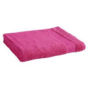 tex home drap de bain bath en coton fushia 150cm x 90cm pas cher achat vente serviettes. Black Bedroom Furniture Sets. Home Design Ideas