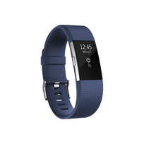 Charge 2 Argent - Bracelet Bleu Taille S