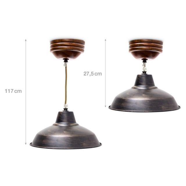 Helloshop26 Luminaire Lustre Suspension Lampe De Plafond