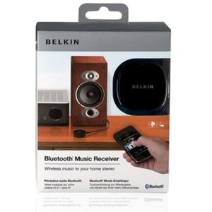belkin f8z492cw r cepteur bluetooth st r o chaine hifi pour iphone smartphone pas cher achat. Black Bedroom Furniture Sets. Home Design Ideas