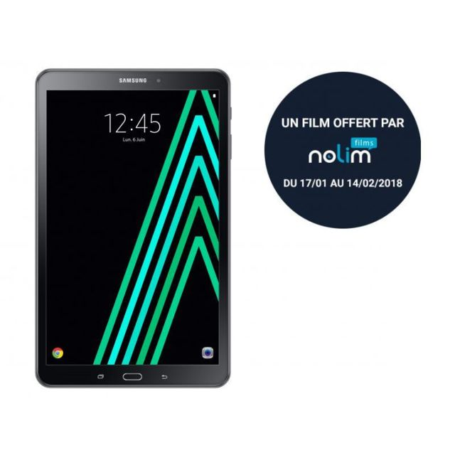 Samsung Galaxy Tab A6 - 10,1'' - 16 Go - Noir