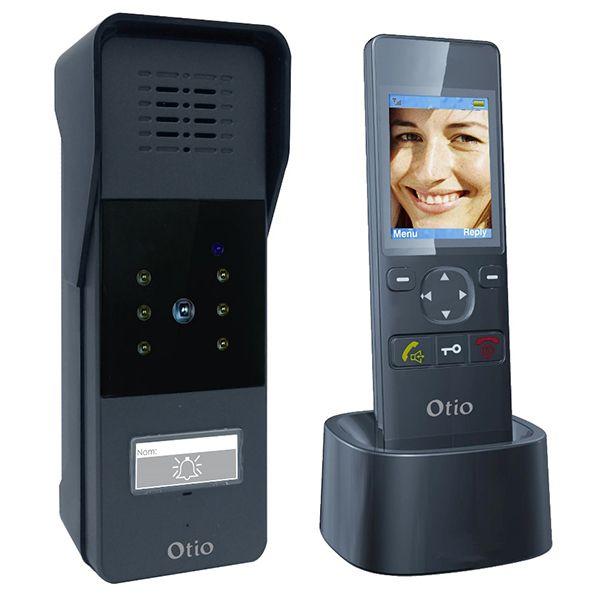 portier video sans fil avec gache electrique - achat portier video