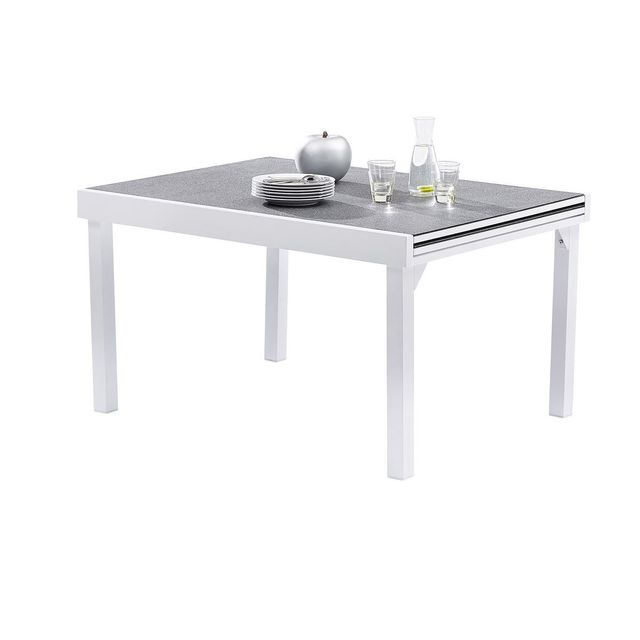 Wilsa Table Modulo Stone Blanc T6/10 Tables & Ensembles Modulo Stone