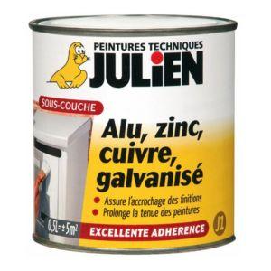 Julien sous couche alu zinc cuivre galvanis mat 2 5l 117002 pas cher achat vente - Sous couche peinture julien ...