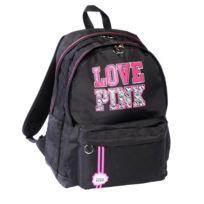 Love Pink - Sac à dos Noir 45 Cm - 2 cpt