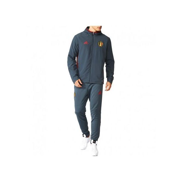 1569c6d46f833 Adidas originals - Survêtement Belgique Football Gris Homme Adidas ...