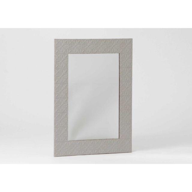 Autre Miroir Metal Embosse