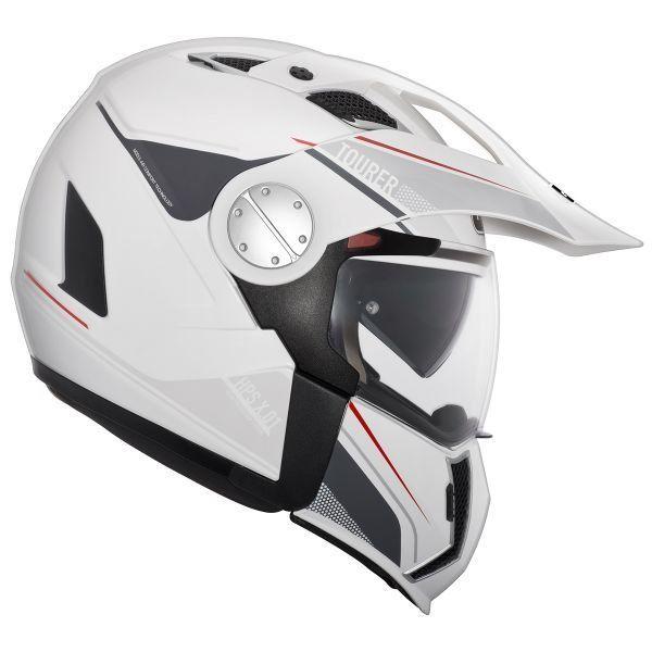 Blanc XS Casque moto HJC C90 BLANC PERLE//PEARL WHITE