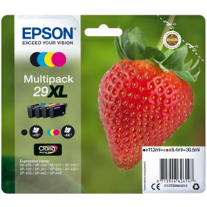 epson multipack fraise 29xl c m j n pas cher achat. Black Bedroom Furniture Sets. Home Design Ideas
