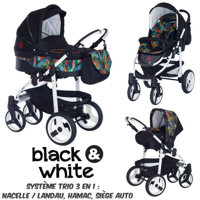 Noir / Multicolore