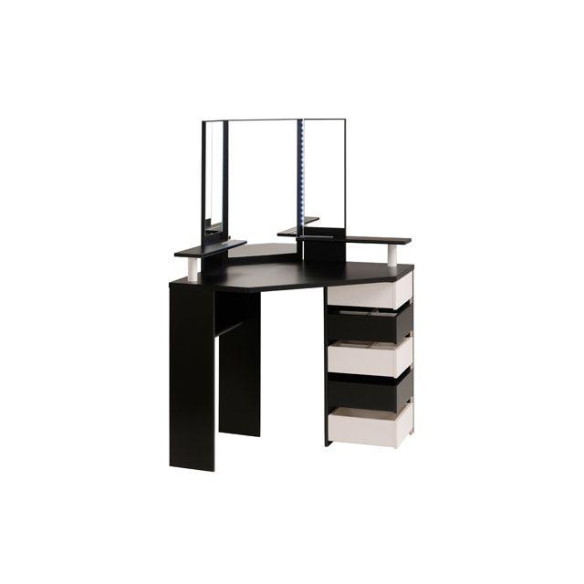 Meuble coiffeuse moderne lovely meuble coiffeuse moderne for Coiffeuse moderne meuble