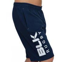 Blk - Short Sweat Shorts Bleu Marine