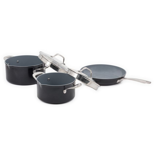 Laguiole Batterie De Cuisine Wabi 5 Pieces En Ceramique Qualite