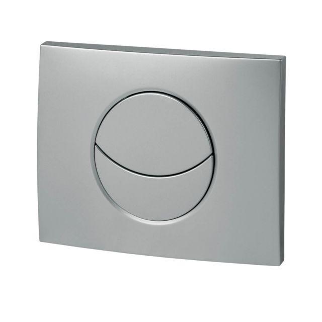 wirquin plaque de commande double chasse pour wc suspendu with mecanisme chasse d eau grohe wc. Black Bedroom Furniture Sets. Home Design Ideas