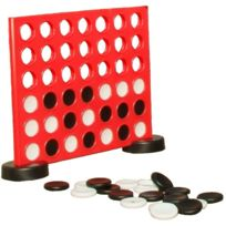 TRADITIONAL GARDEN GAMES - Jeu Puissance 4 géant 46x53cm