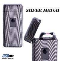 Silver Match - Briquet Arc électrique silvermatch taupe