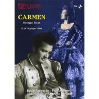 Disques Dom - Bizet - Carmen Corelli, Amparan, Colzani, Ribetti, Sacchetti, Cassinelli, Sanzogno, Milano - Dvd - Edition simple
