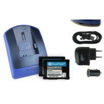 mtb more energy® - 2 Batteries + Chargeur USB, Bp-819 pour Canon Legria Hf S100, S200, Legria Hf20