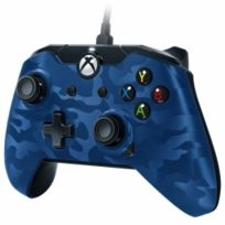 PDP - Manette filaire Xbox One Bleue Camo