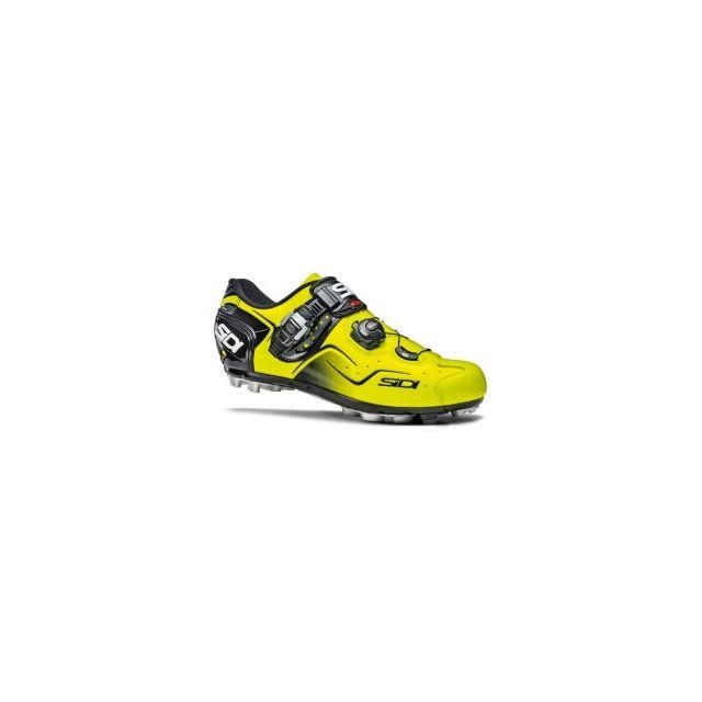 Sidi Chaussures Mtb Cape jaune fluo pas cher Achat