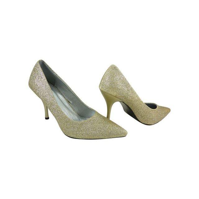 bas prix 2bf54 72b42 Chaussmaro - Chaussures mariage femme à strass paillettes ...