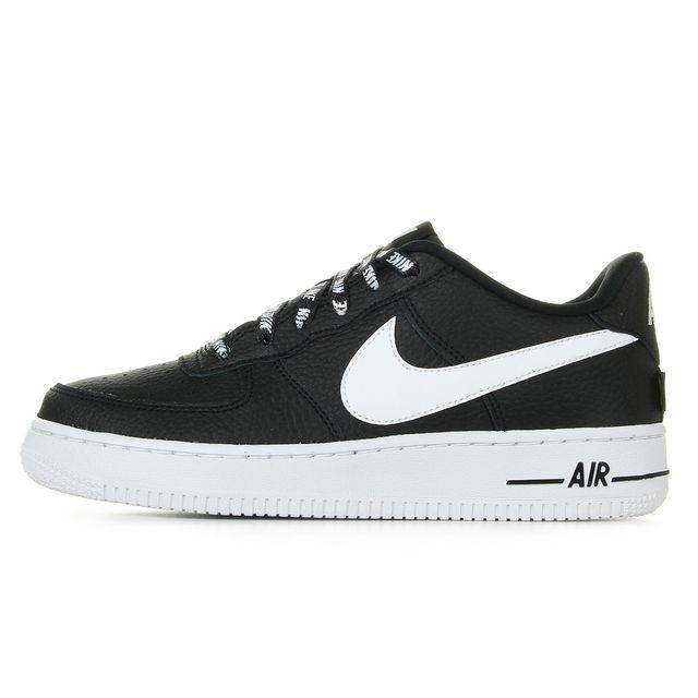 Nike Air Force 1 Lv8 GS, Black pas cher Achat Vente