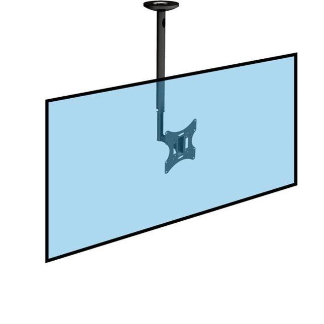 Kimex - Support plafond pour écran Tv Lcd Led 23  -42  , Hauteur 60 ... bf868aa013a1