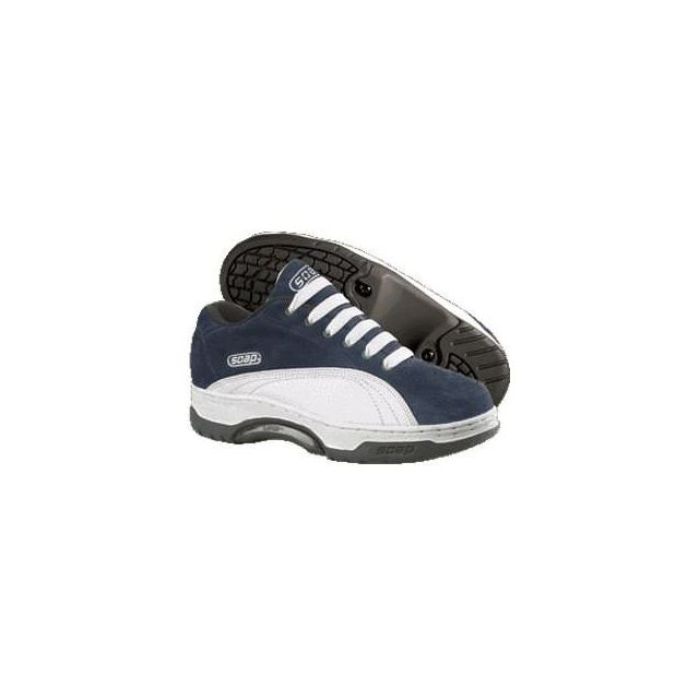 Soap Baskets Homme Grind shoes vintage Collector Scab Navy White