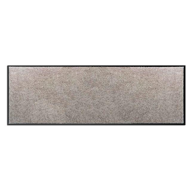 Alinéa - Ben Tapis de couloir / paillasson 60x180cm gris clair - pas ...