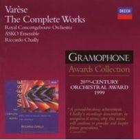 Decca - VarÈSE : Oeuvre IntÉGRALE - Coffret De 2 Cd