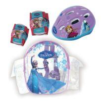 DarpÈJE - Set de protections La Reine des neiges Frozen, : Casque, coudières, genouillères