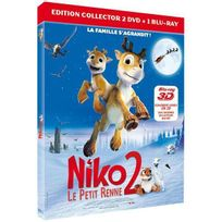Bac Films - Niko, le petit renne 2 - Combo Blu-Ray 3D + Dvd - Edition Collector