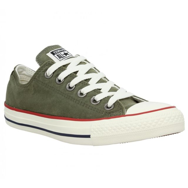 090a299a31d Converse - Chuck Taylor All Star toile Femme-39-Olive - pas cher Achat    Vente Baskets femme - RueDuCommerce