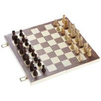 Philos - 2509 - Backgammon- Jeu D'ÉCHECS Et De Dames - Champ De 40 Mm