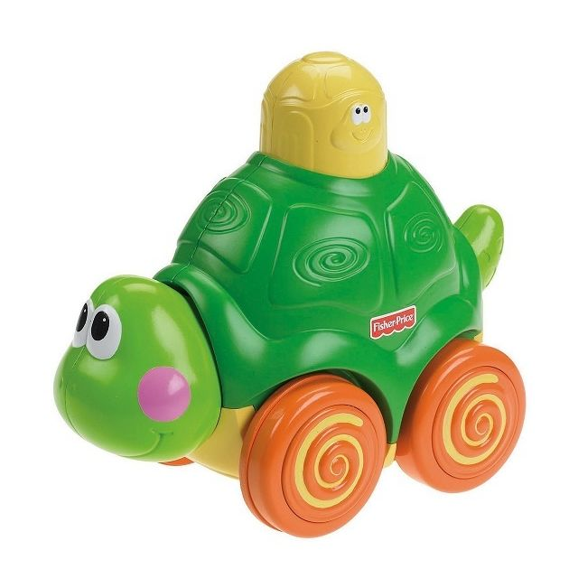 Fisher Price Tortue Press and Go avec sons et musique