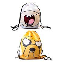 Adventure Time - Sac - sac en toile réversible Finn & Jake