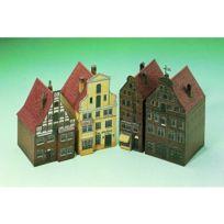 Aue Verlag - Maquette en carton : Maisons à Lunebourg, Allemagne