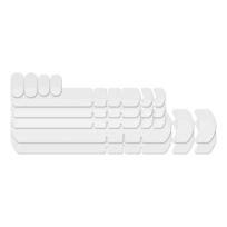 Lizard Skins - Kit protecteurs de cadre transparent