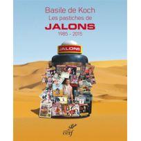 Cerf - les pastiches de Jalons ; 1985 - 2015