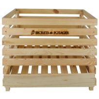 ESSCHERT DESIGN - Caisse à pommes de terre en bois