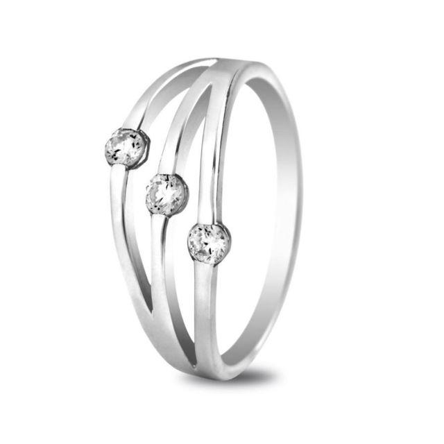 bague or gris diamant carrefour
