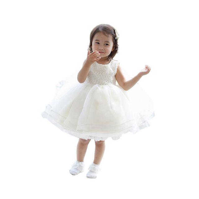 c8543103bbb4b Glareola - Robe enfant élégante de Cérémonie Mariage Soirée Cocktail  Demoiselle D honneur et baptème