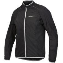 Craft - Active Bike Light Rain Jacket Noire Et Platine Veste de pluie