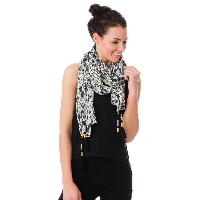Kaporal 5 - Kaporal Echarpe Fest black - pas cher Achat   Vente Echarpes,  foulards - RueDuCommerce 234f1c35e5d