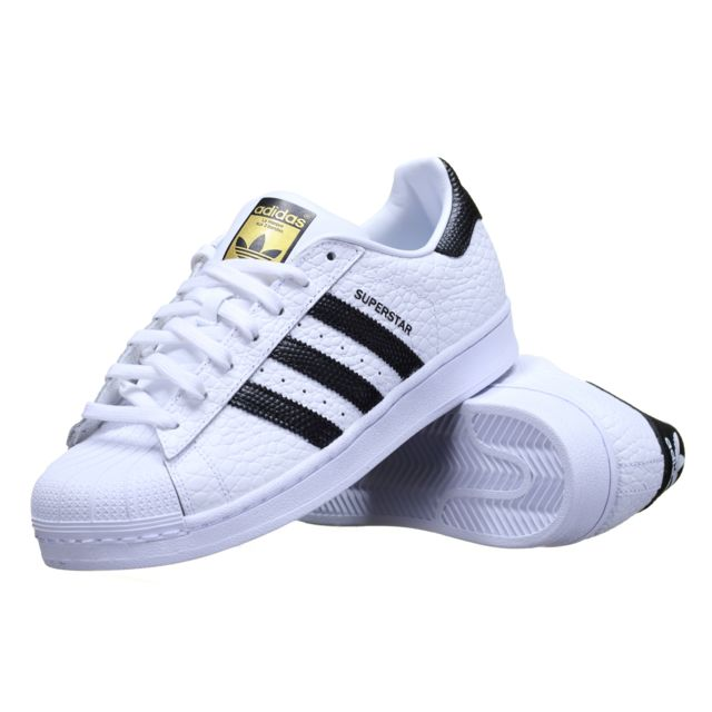 a93d90715 Adidas originals - Chaussure Adidas Superstar Animal S75157 Blanc ...